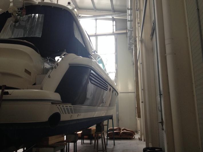 side in warehouse