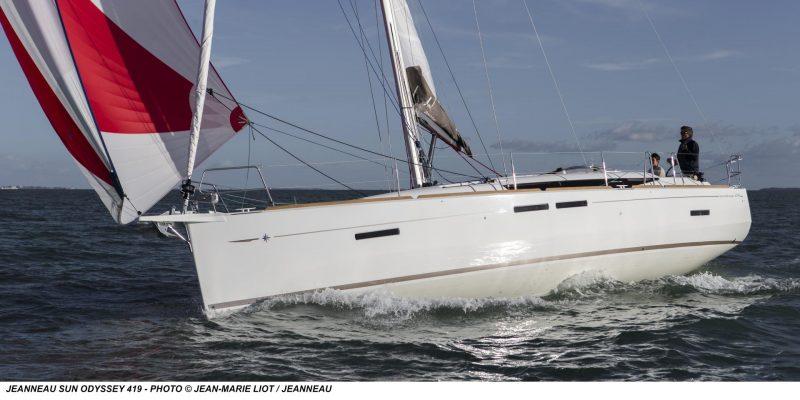 Jeanneau Sun Odyssey 419 new  2017    € 57.500