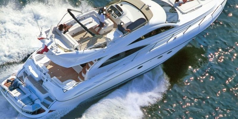 Sunseeker Manhatten 56       launched 2001               € 245.0000